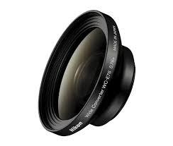 Convertitore Nikon grandangolo WC-E76