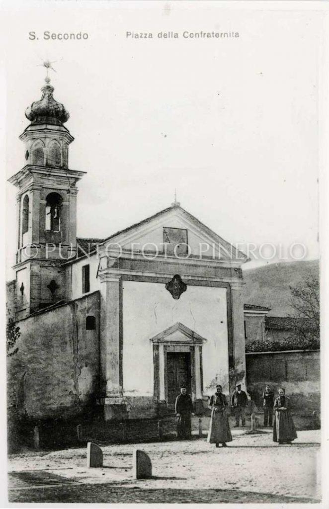 Foto storica San Secondo di Pinerolo