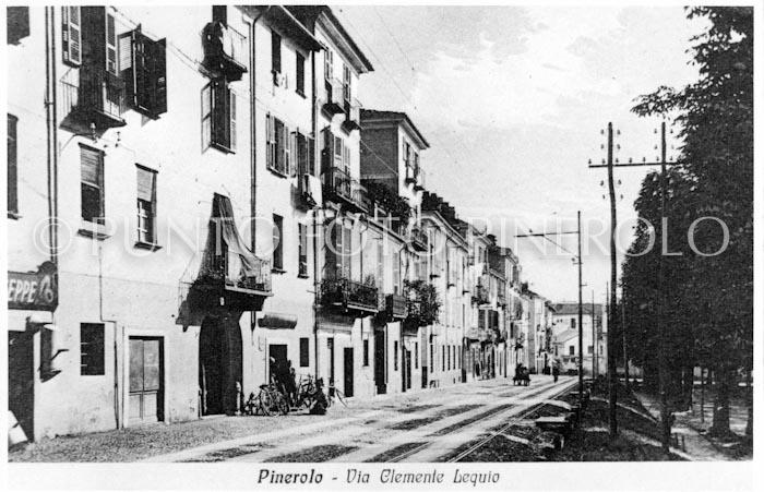 Foto storica Pinerolo