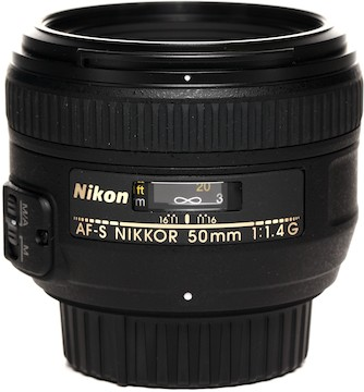Nikon 50mm f1.4