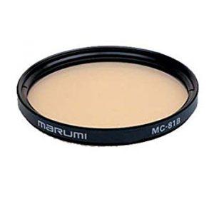 filtro di conversione per fotografia analogica 81B Marumi